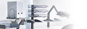 Schreibtisch Ablageboards