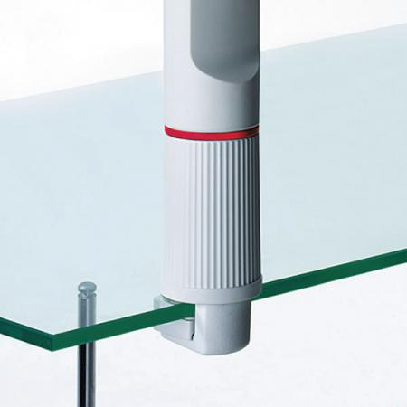 Novus Universalzwinge 1 Befestigung für Glastische