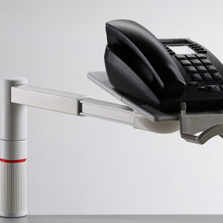 Novus Telefonschwenker SCOPEMASTER lichtgrau Teleskoparm Unizwin
