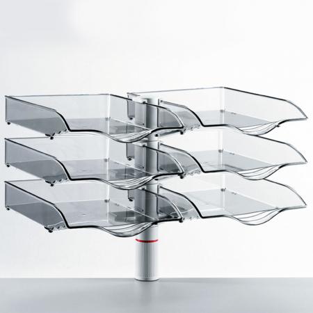 Novus Schalenset DUO COPYSWINGER III lichtgrau 2x3 Schalen