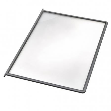 Novus Sichttafel DIN A4 grau