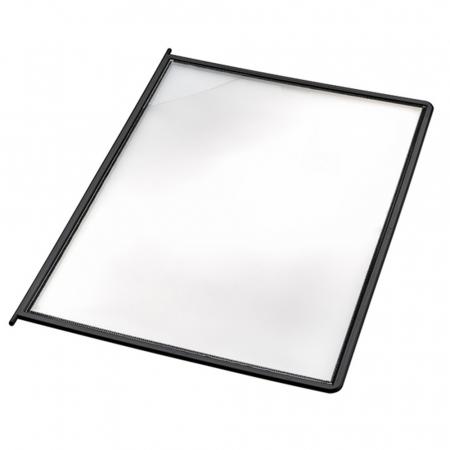 Novus Sichttafel DIN A4 schwarz