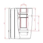 Novus Adapter für TSS Säulen