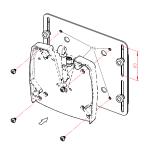 Novus höhenverstellbarer VESA 75/100 Adapter Balance30