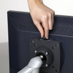 Novus Trennwand Monitorhalter SlatWall LM Arm 0-2-1