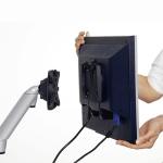 Novus Trennwand Monitorhalter SlatWall LiftTEC Arm1