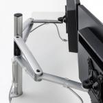 Novus MY twin arm S Set mit Systemschienenbefestigung