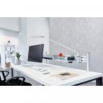 Novus LED-Schreibtischleuchte schwarz mit Befestigung