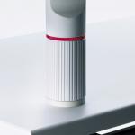 Novus Aufschraubplatte lichtgrau Ausführung mit Kunststoffgewind